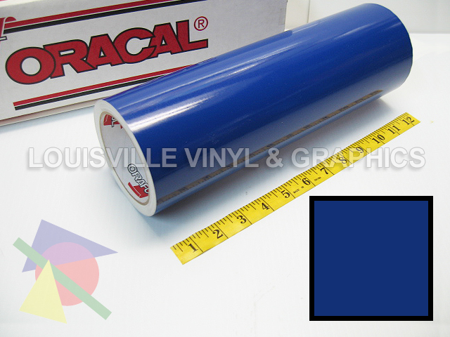 12 Quot X 10ft King Blue Oracal 651 Craft Graphics Amp Hobby