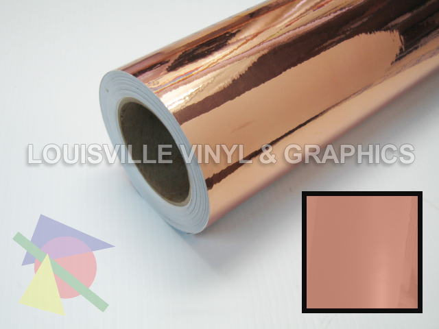 24 Quot Wide Copper Chrome Polished Lvg Intercal Sign